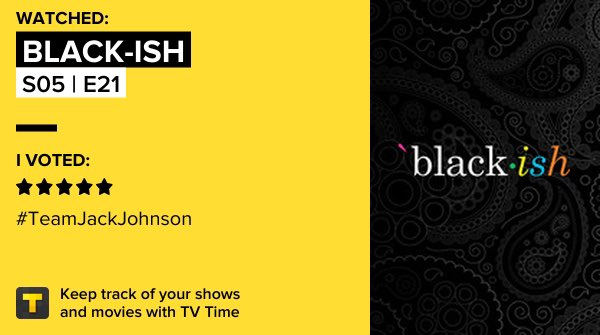 black-ish - S05 | E21 on TV Time #blackish