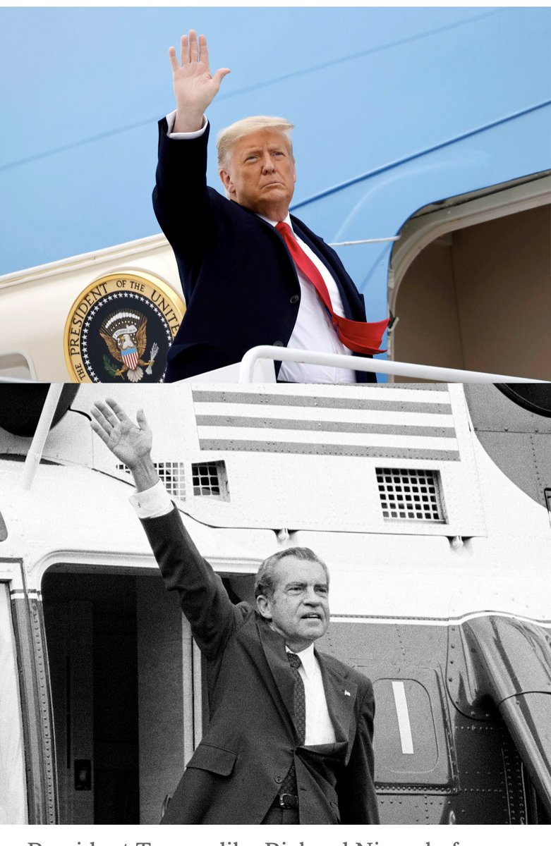 #Trump HATES being compared with Nixon so don't share this photo too often ⁦@MeidasTouch⁩