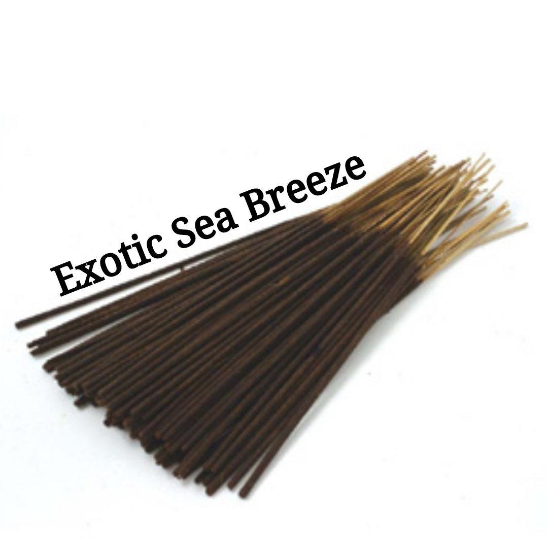 Incense Sticks | Exotic Sea Breeze | 30 Incense Sticks | Incense Bundle  #CyberMonday #Wedding #Incense #HomeFragranceOil #AromatherapyOil #PerfumeBodyOils #GiftShopSale #BlackFriday #Etsy #HerbalRemedies #ExoticSeaBreeze