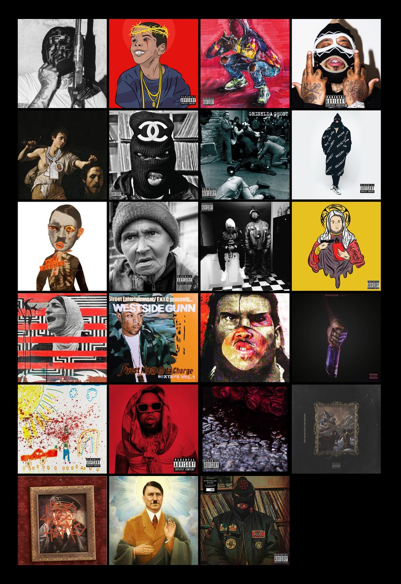 And that's it. Thanks for reading. One of the best discographies of the 10s. ALL THIS IS CLASSIC. #ART #CULTURE #MASTERPIECE @WESTSIDEGUNN #ICON