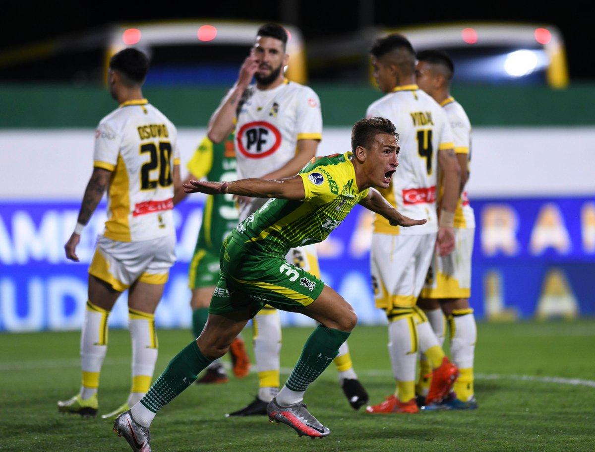 Final argentina en la Copa Sudamericana. Defensa y Justicia goleó 4-2 a Coquimbo Unido de Chile y clasificó para disputar el título contra Lanús el 23 de enero. https://t.co/lSSPgKXi4c