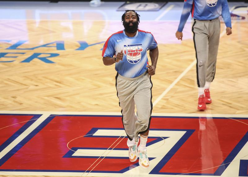 James Harden gets triple-double in debut as Nets clip Magic