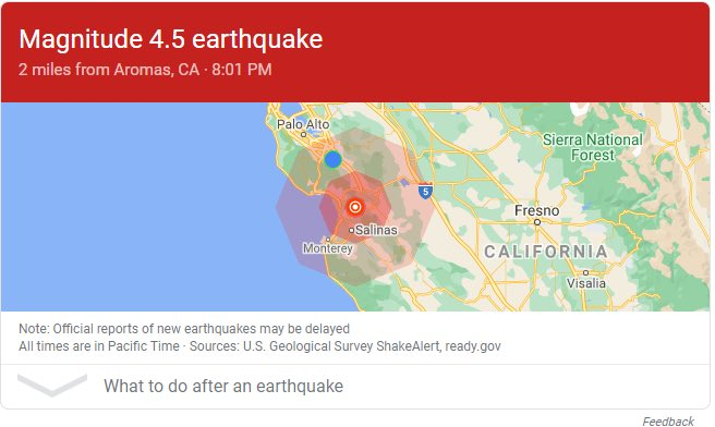 California just had the first #earthquake of the new year!