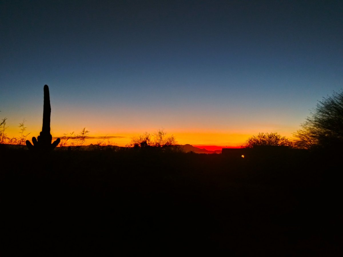 Good evening from #Tucson