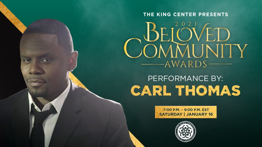Moving, powerful performance, @CNeronThomas! Thank you for joining us for the #BelovedCommunity Awards. #BCAKingCenter #MLK