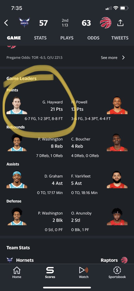 Y'all member what I said about SFs against TOR? #NBA #DFS