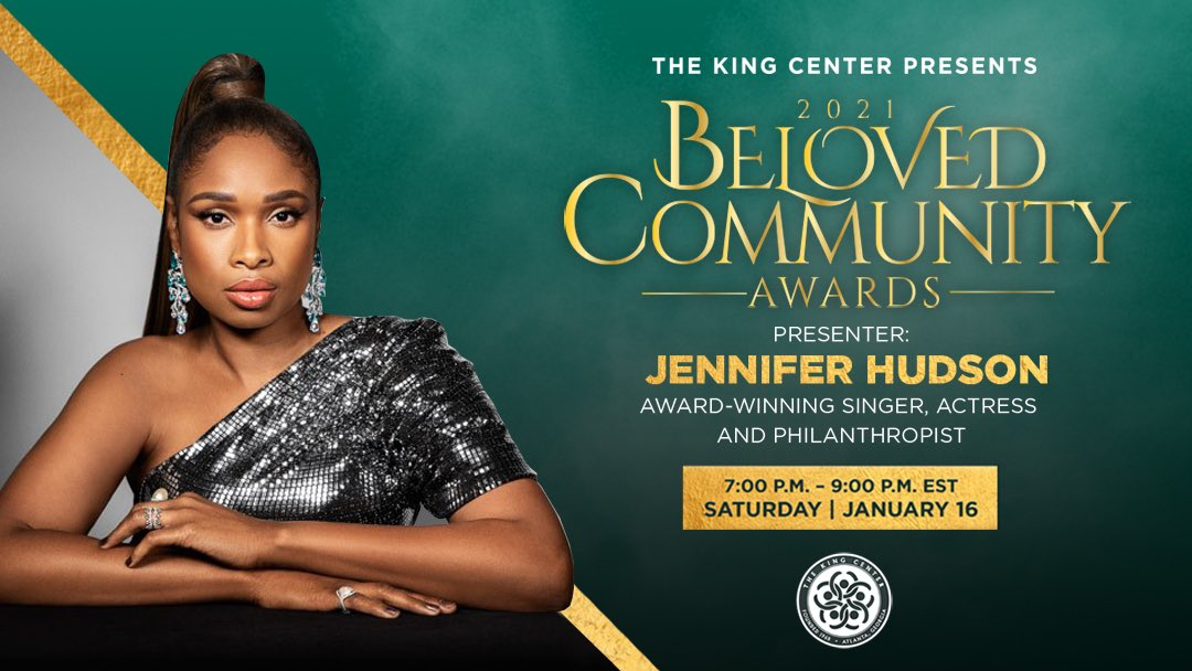 Welcome, @IAMJHUD! Thank you for presenting at the #BelovedCommunity Awards. #MLK #BCAKingCenter #CorettaScottKing