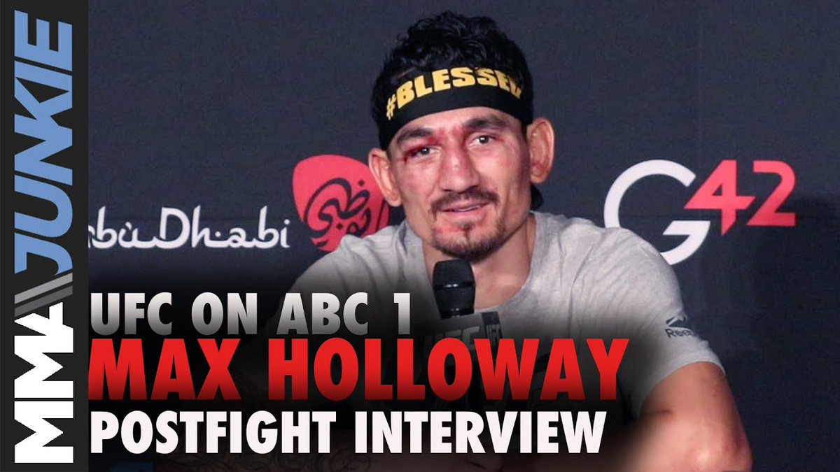 Most fighters like to spar. Cool, but Max Holloway (@BlessedMMA) is gonna keep doing what works for him.  #UFCFightIsland7 | Full interview: https://t.co/5nZsu6034N https://t.co/5diK2GAzFY