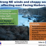 Image for the Tweet beginning: Dangerous situation for nearshore waters