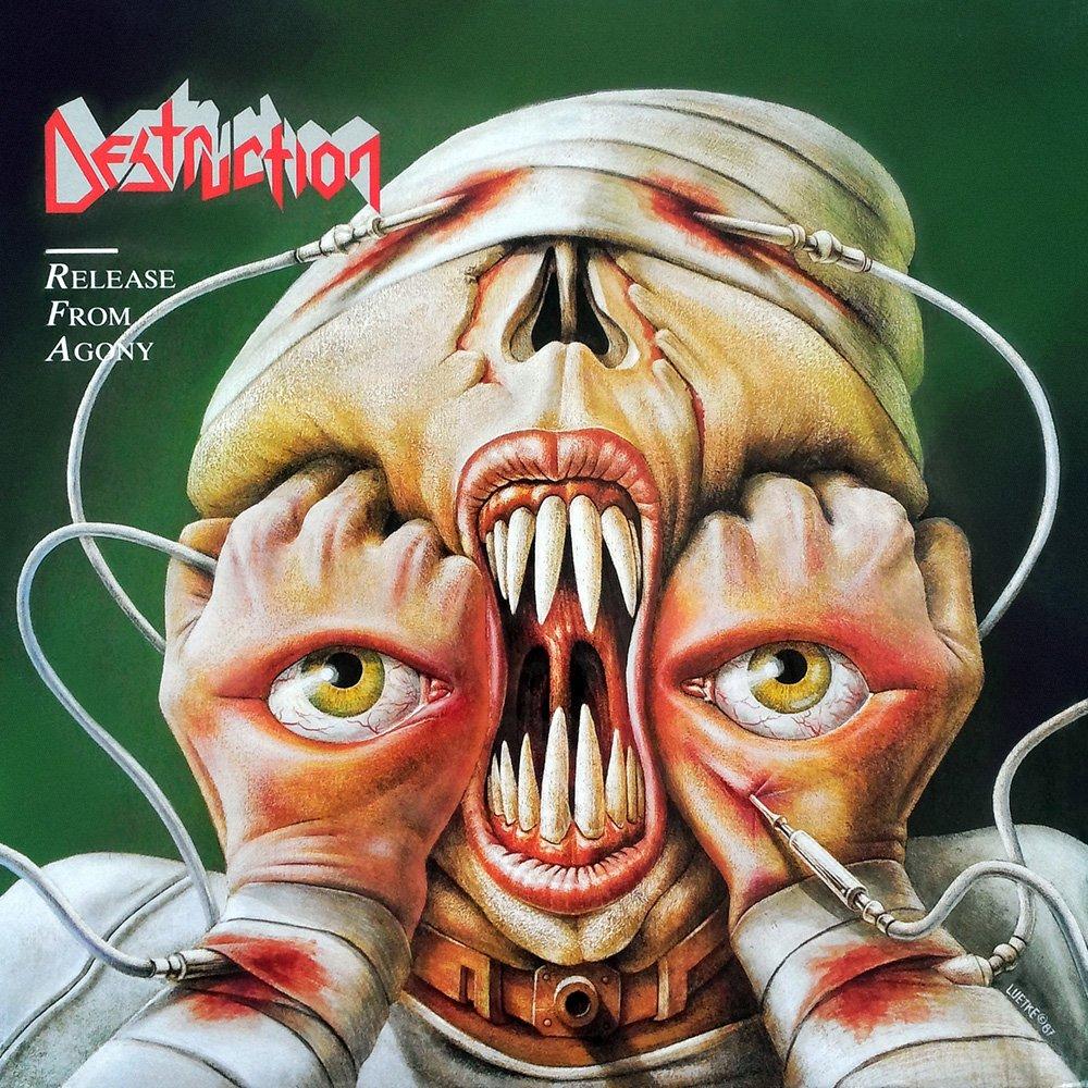 #Destruction  #ThrashMetal 🇩🇪 Album: Release From Agony  Year: 1987