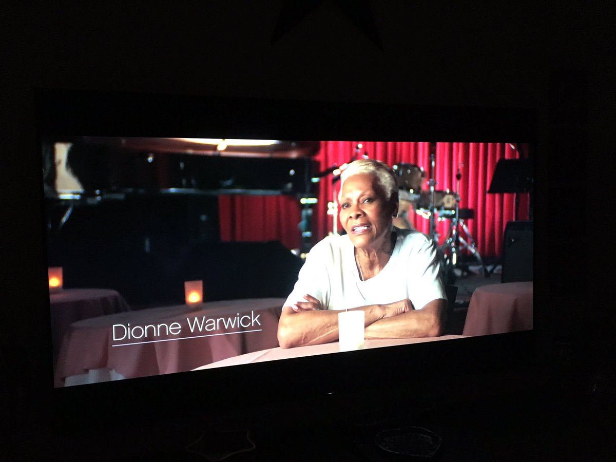 How great is @dionnewarwick? She is in every music documentary I have watched lately. #Legend #Icon  #Queen