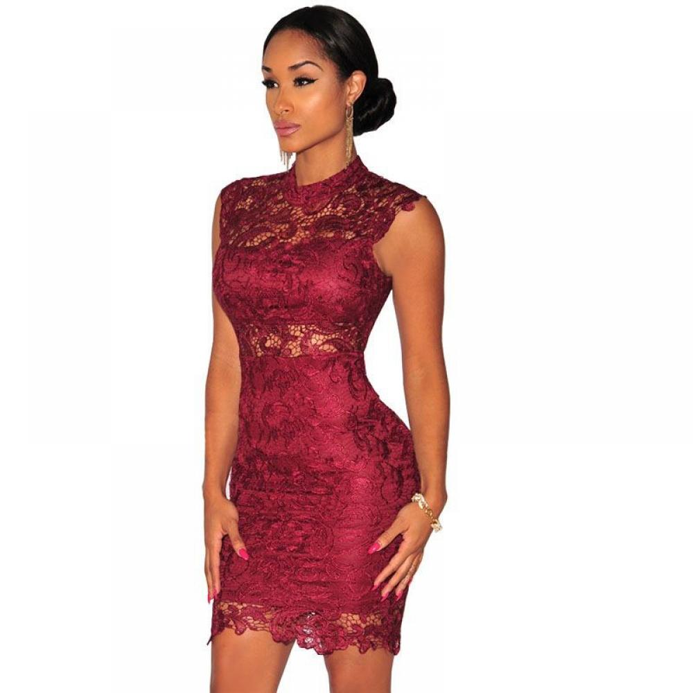 #fun #outside Fashion Elegant Lace Dress