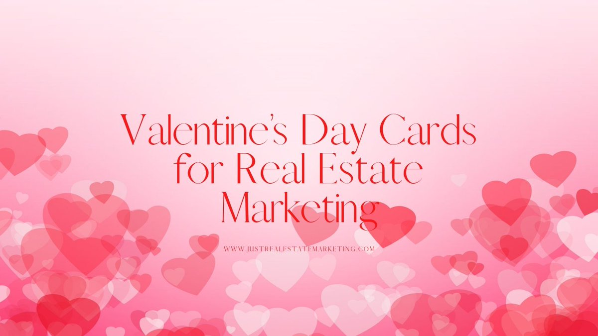 Surprise your real estate clients & send them one of these great Valentines Day cards. Read the blog post at the link below! ❤️  #marketing #valentinesday #realestatemarketing