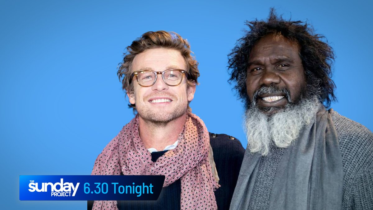 Tonight we we chat with Simon Baker and Witiyana Marika about their tense new Aussie thriller - @HighGroundFilm - a powerful story around Australia's previously hidden history. #TheProjectTV