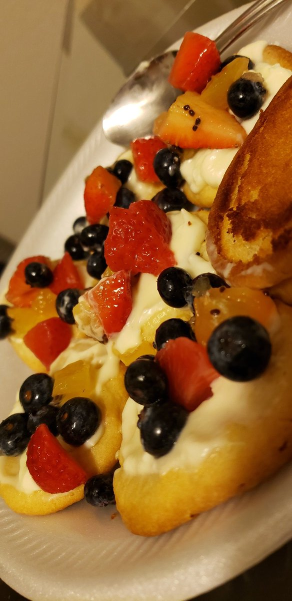 @EThorntonGHS Right there with you. Here's my fruit pizza!😋