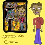 """Image for the Tweet beginning: """"Art Is So Cool"""" This collaboration"""