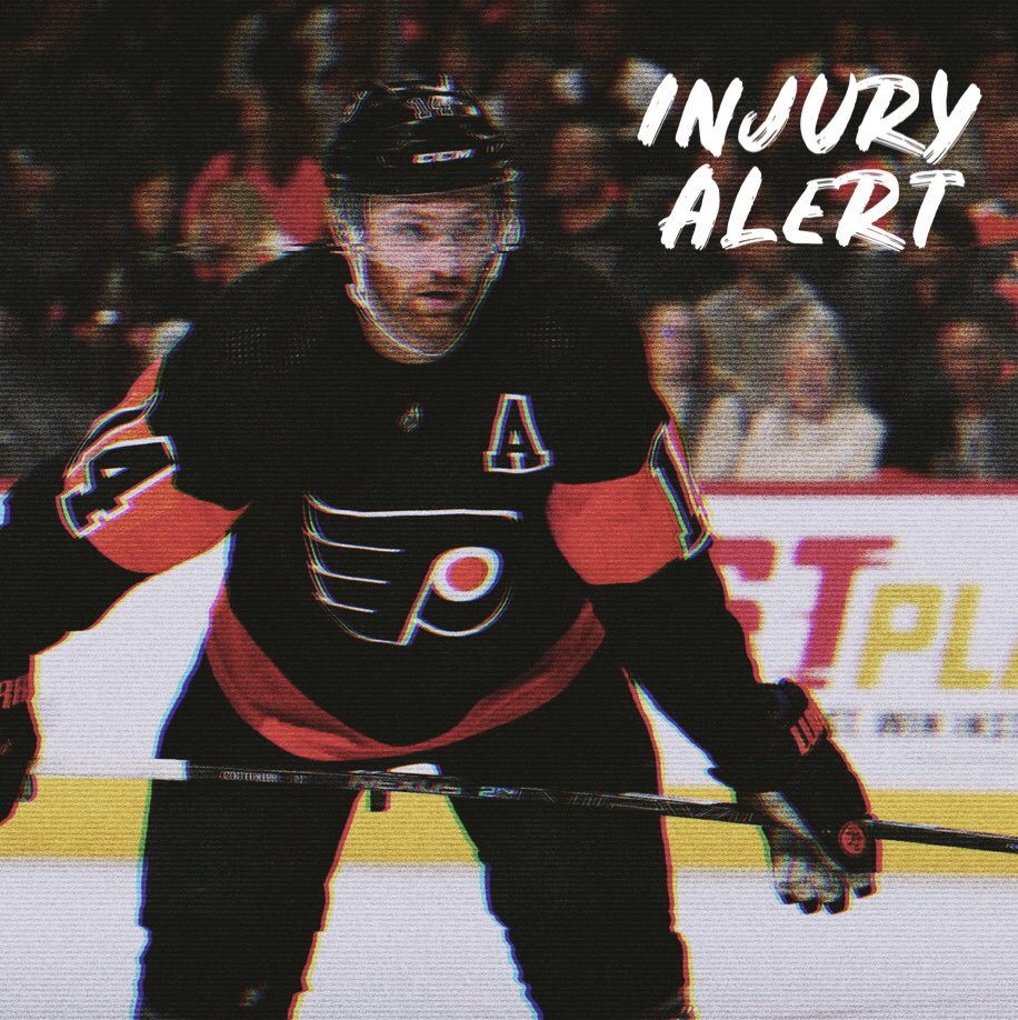 Sean Couturier is out of action for at least 2 weeks with a rib injury. With them using a top-9 approach, it's tough to pinpoint a specific player who will see a bump 5-on-5. Patrick will likely move onto the top PP and Lindblom onto PP2. #FantasyHockey #AnytimeAnywhere