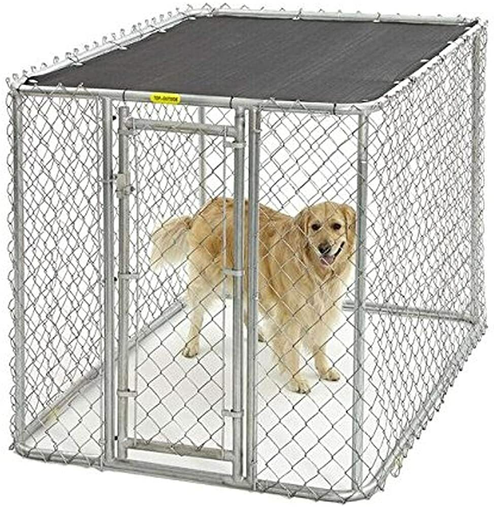 Midwest Homes for Pets K9 Dog Kennel | Four Outdoor Dog Kennel w/Free Sunscreen | Durable Galvanized  #gifts #giftideas #dog #cat #puppy #pets  #blackfriday #thanksgiving #cybermonday @amazon #amazon #primeday