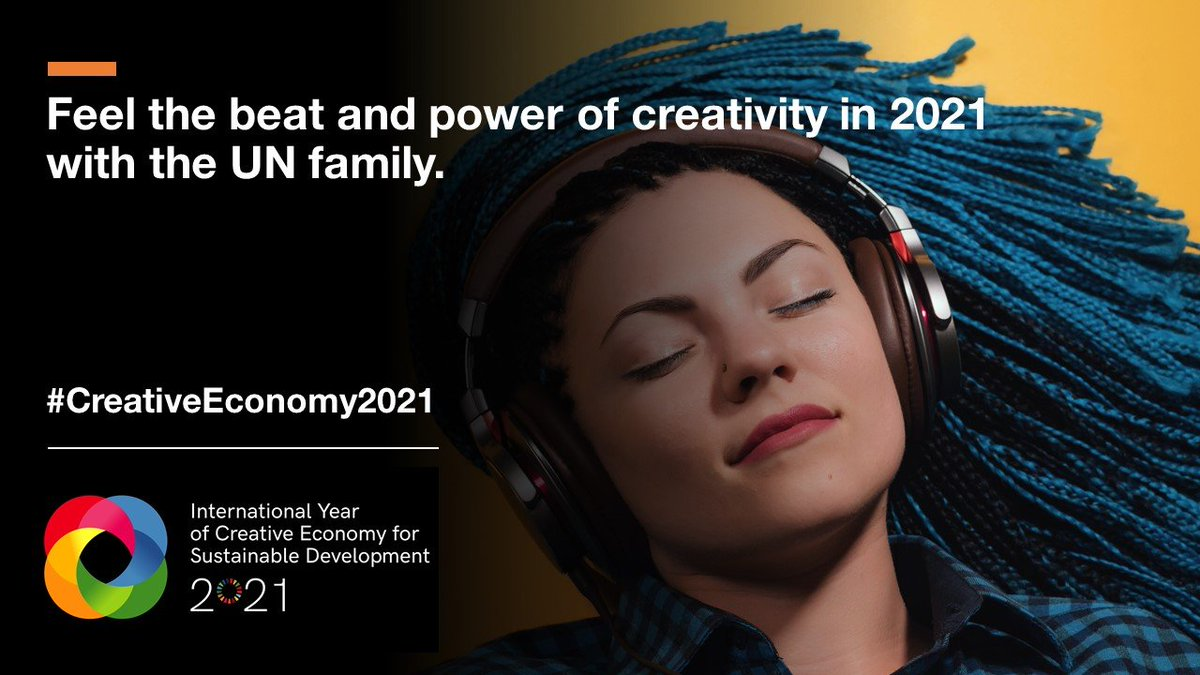 With so many urgent global challenges to contend with, arts & culture have often found themselves pushed down the pecking order.  Amid #COVID19 the creative economy can and should be part of the solution. More on @UNCTAD's year of #CreativeEconomy2021 ↘