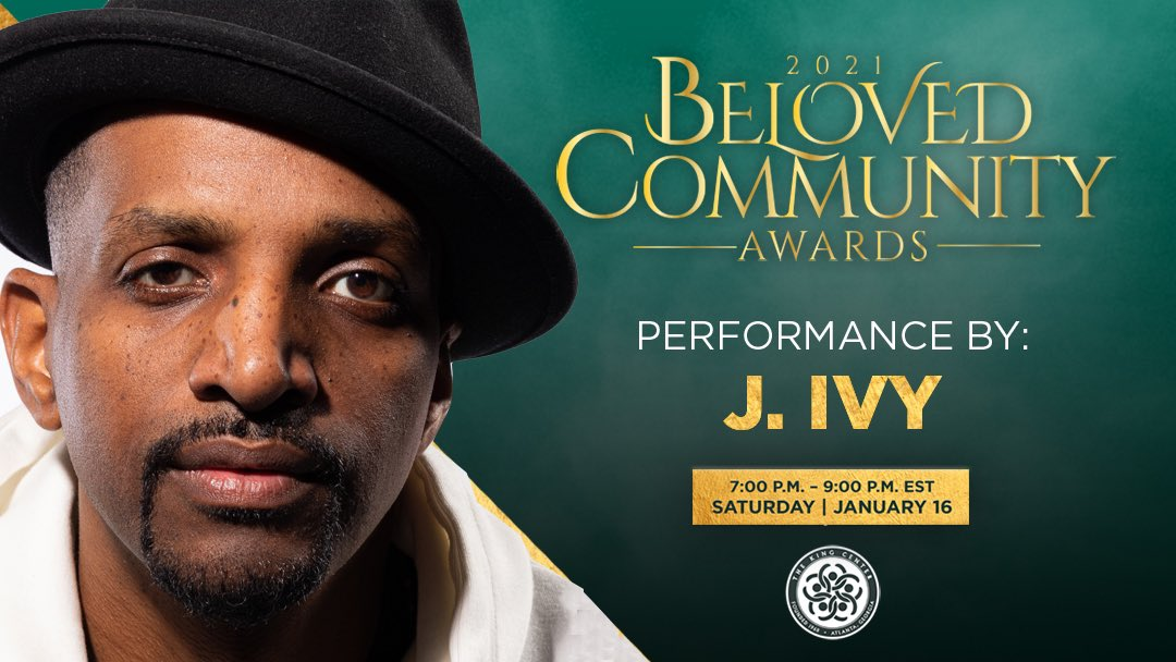 Wasn't @J_Ivy GREAT tonight? Thank you, J., for your powerful spoken word performance at our #BelovedCommunity Awards. #MLK  #BCAKingCenter