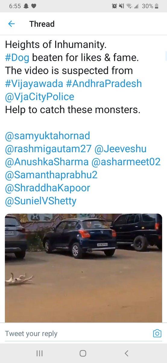 This poor baby💔, please catch these monsters 😭😡😡@VjaCityPolice #Dog beaten for likes & fame  @samyuktahornad @Jeeveshu @AnushkaSharma @asharmeet02 @ShraddhaKapoor  #StopAnimalCruelty #stopanimalabuse #AnimalRights #animalsmatter