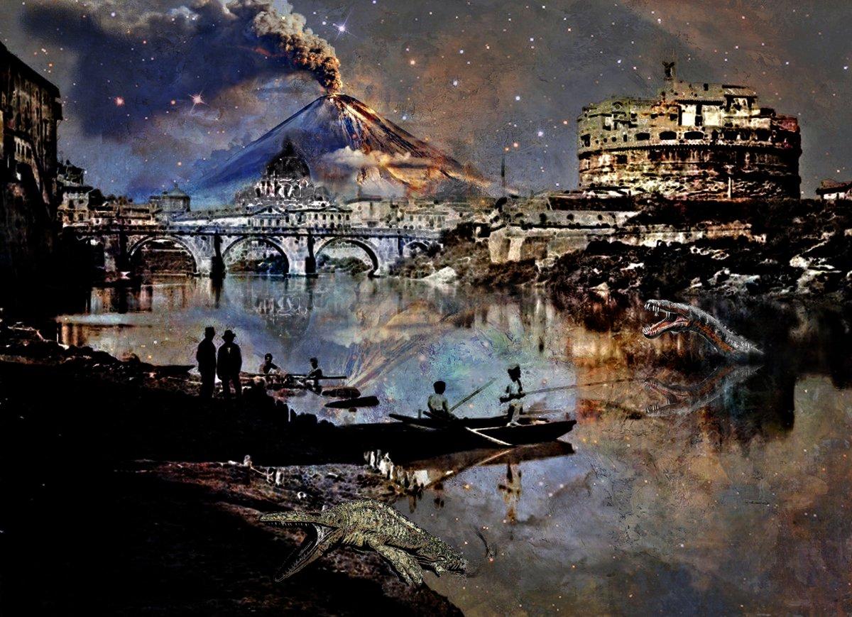 A Strange Night to Fish for Monsters   Fantasies of a Mad Creator Grey Cross Studios #art #artwork #surrealism #fantasy #sciencefiction #photography #Digitalart #scifi #ArtSeries #ArtGallery #NewOrleans #NOLA #NOLAArts