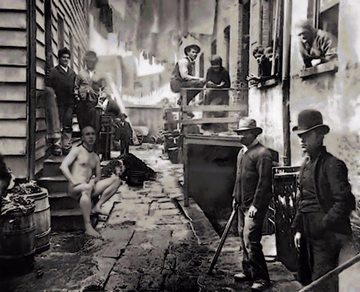 Gangs of New York   Fantasies of a Mad Creator Grey Cross Studios #art #artwork #surrealism #fantasy #sciencefiction #photography #Digitalart #scifi #ArtSeries #ArtGallery #NewOrleans #NOLA #NOLAArts