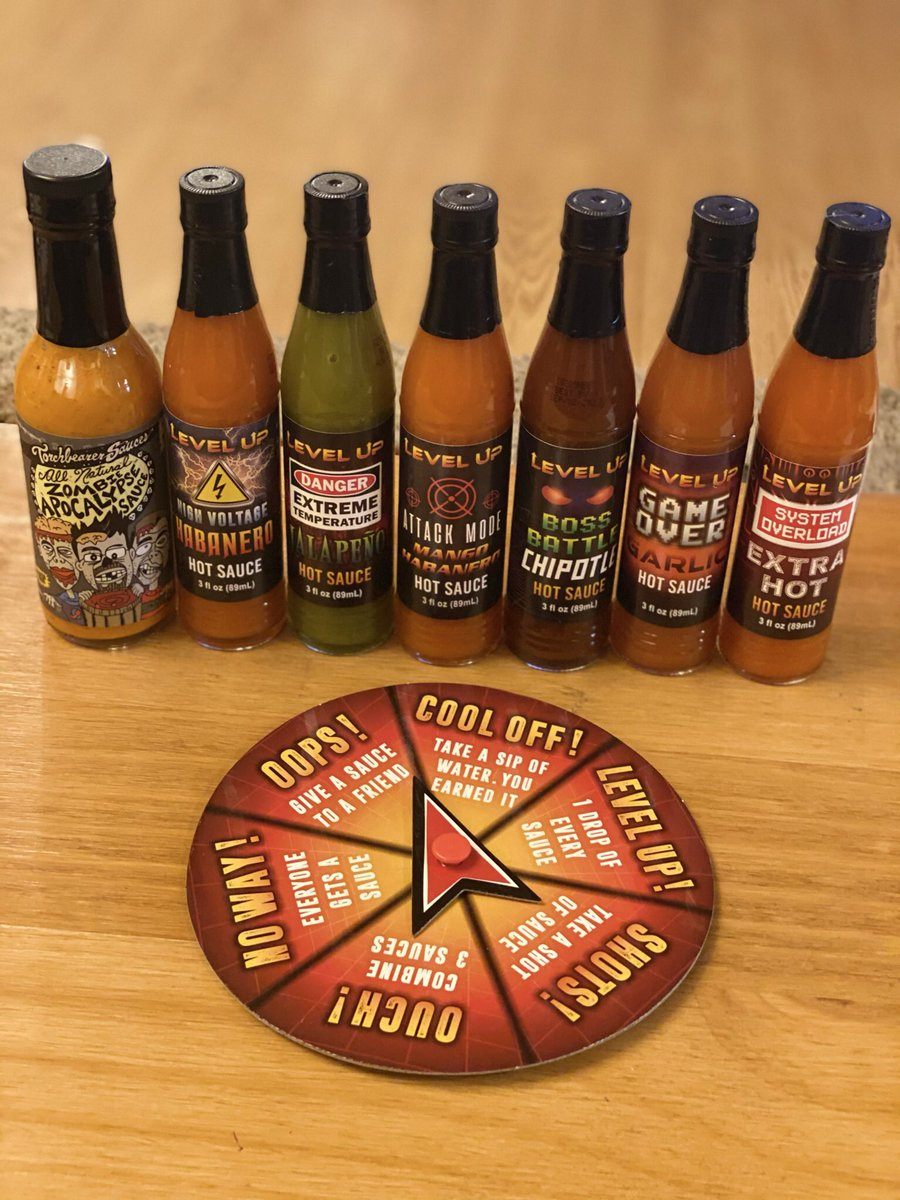 Anyone else get the #hotsauce game for #Christmas ??? 😬😮🤭