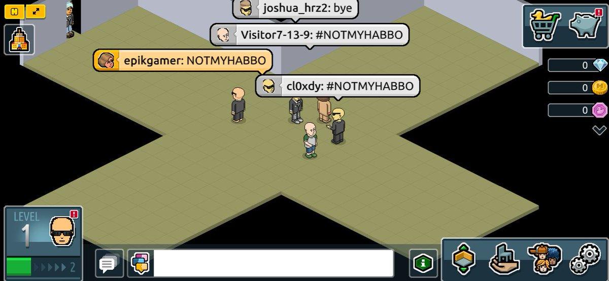 #NOTMYHABBO