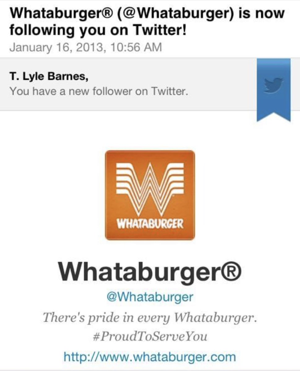 Happy Anniversary @Whataburger !  Longest relationship of my life.  #Firstlove