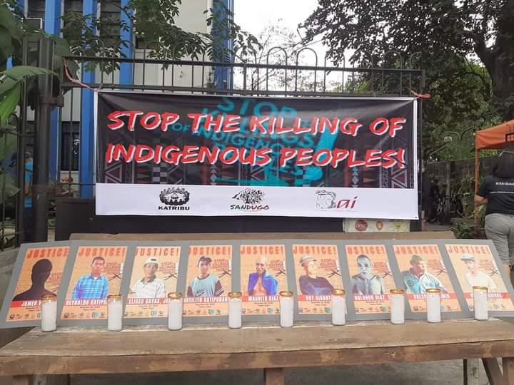 Kabilang sa pinaslang ay si Roy Giganto, lider-katutubo ng TUMANDUK, na kilalang lumalaban sa pagpapatigil ng Jalaur Mega Dam project sa kanilang lupang ninuno.   Kuha mula sa CEGP   #JusticeForTumandok9