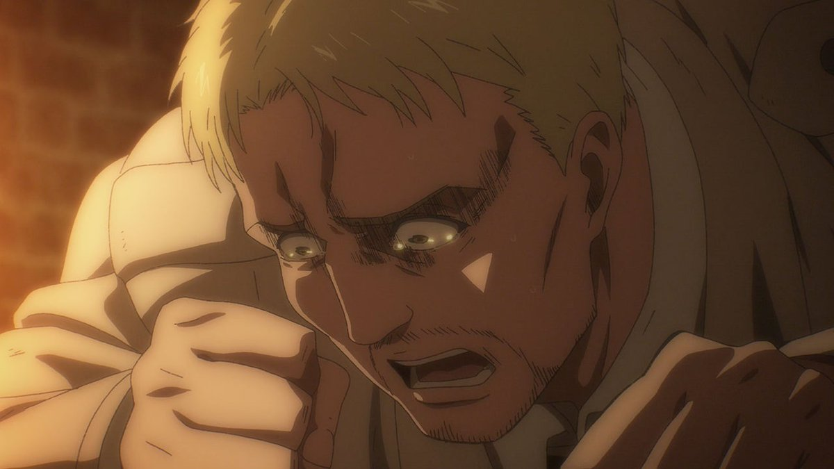 """The first episode back after the holiday break and Attack on Titan's Episode 64, """"Declaration of War,"""" already marks a huge turning point for the season. Here's what went down and what we expect moving forward.   SPOILER WARNING:"""
