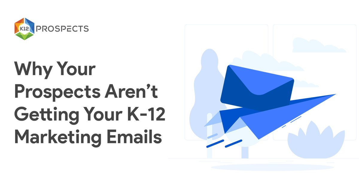 Are your K-12 marketing emails getting lost in spam filters? Here are 5 things you can do about it.  #ESSA #fellowships #FETC #finishstrong #founders