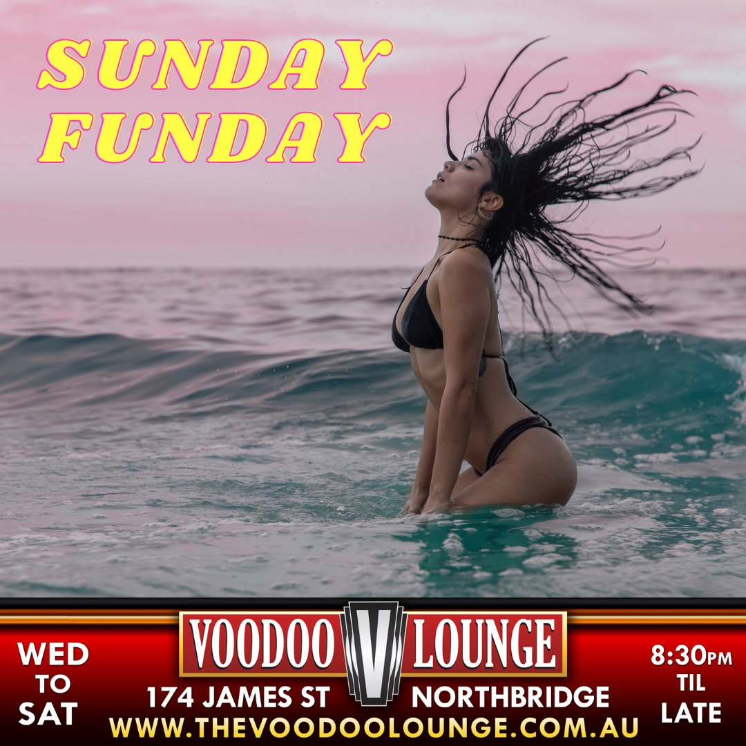 🌞Sunday's are for sexy chill times at the beach! 🌊  What's your favourite Sunday Funday activity?   ❕Wrong answers only!! ❕  #voodoolounge #sundayfunday #perthbeaches #sunshine #beachvibes #favouritepasttime #perthisok #perthtodo #perthnightlife #breaktime
