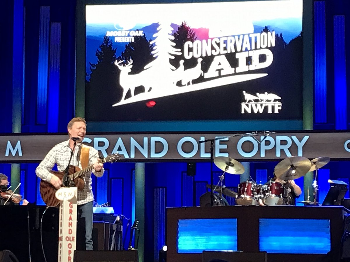 Replying to @cmorganmusic: Great night for a great cause special thanks to all the staff at the Opry God has blessed us