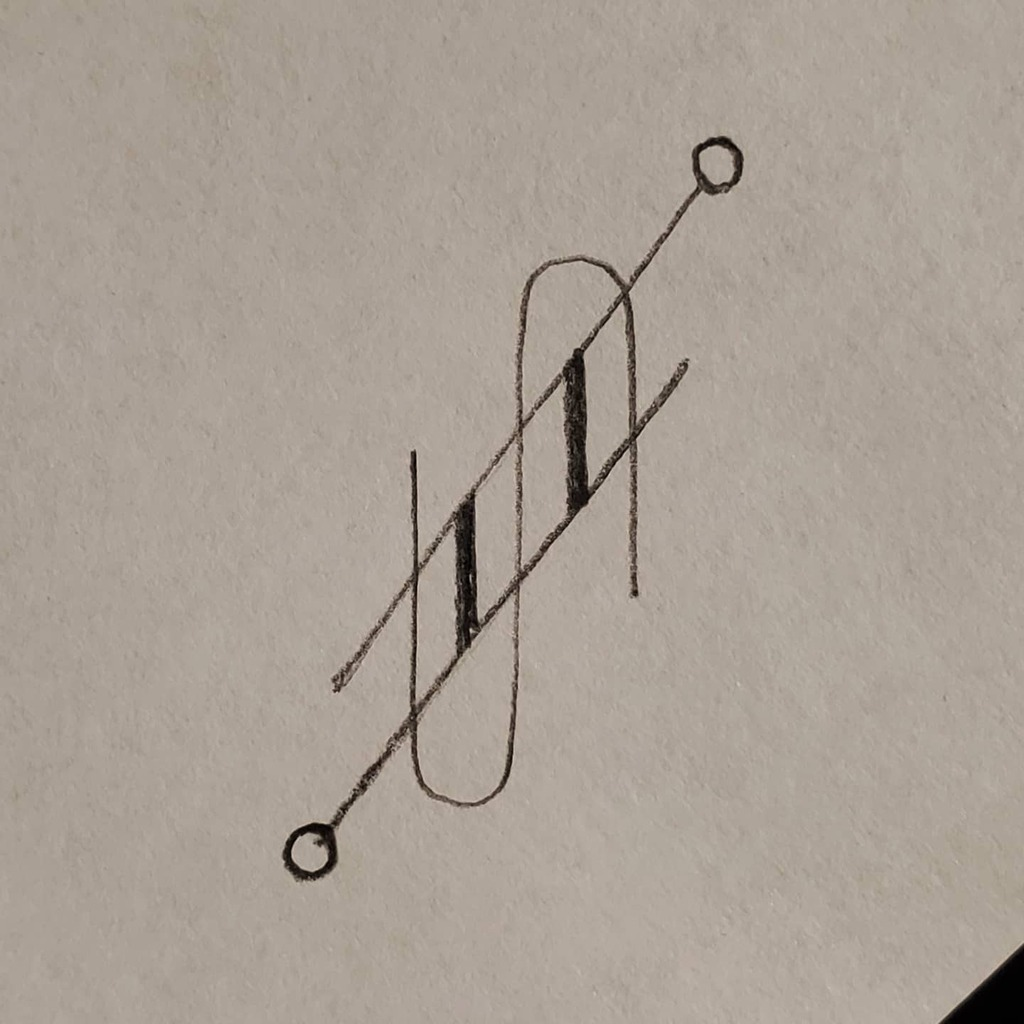 Rotational Pull  ○●□■ Daily Drawing 129  #auresdi #geometricart #draw #drawing #freehand #handdrawn #noruler #pencil #pencilart #artwork #art #arte #artists #artistsoninstagram #artanddesign #sketchoftheday #sketchdaily #geometric #spaceart #abstrac…