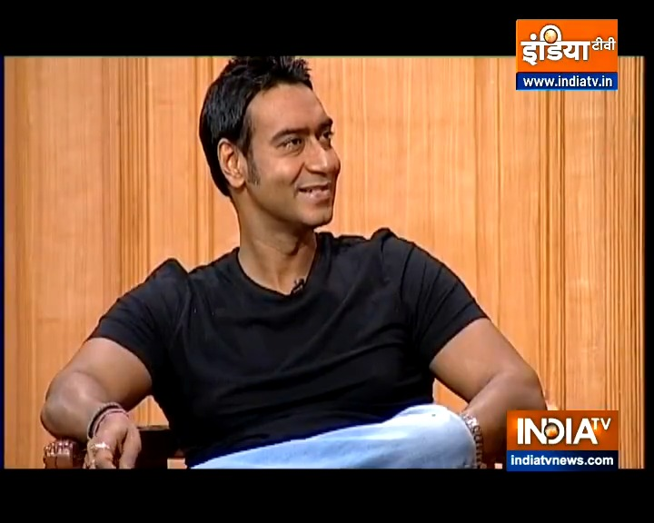 Watch film star Ajay Devgn @ajaydevgn grilled by @RajatSharmaLive in #AapKiAdalat Today at 10AM  @indiatvnews  #AjayDevgnInAapKiAdalat