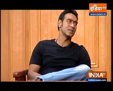 For those who missed out last night,  watch film star Ajay Devgn in #AapKiAdalat  Today morning at 10 am on India TV   @ajaydevgn @indiatvnews