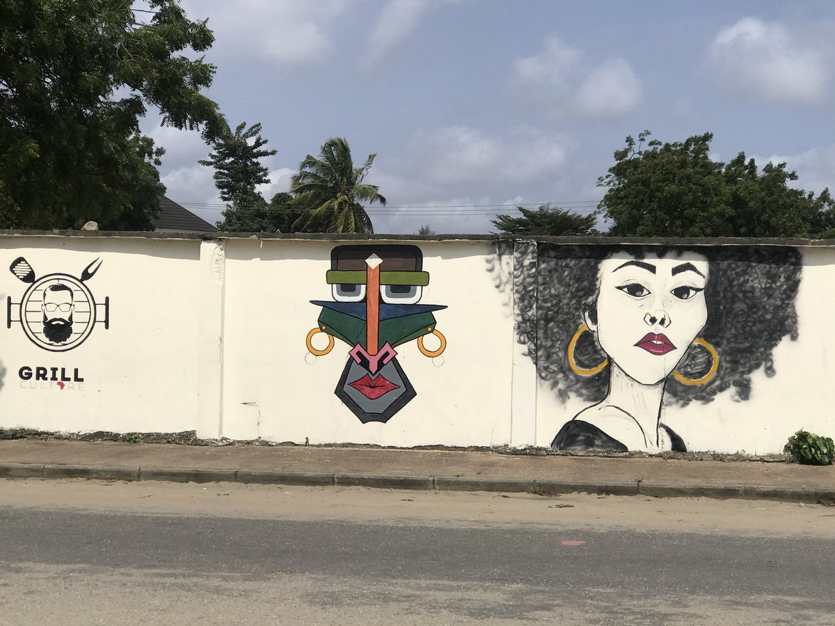 So, I did a recreation sometime back of this cool Graffiti I found in Festac Town.  Kudos to the Original Artist who drew this, you are the real MVP👍🏽..  Tool used: Adobe Illustrator  #tosmie #ILLUSTRATION2021 #artistsontwitter #amuwo #GraphicDesigner #Festac #designtwitter