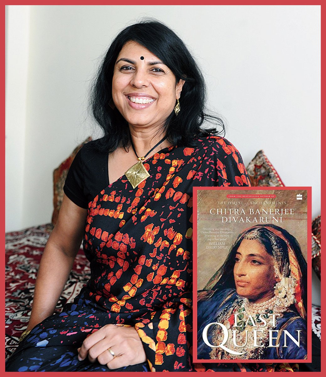 Chitra Banerjee Divakaruni on what drew her to write the story of Rani Jindan of Punjab, moving to historical novels and living through the pandemic     @HarperCollinsIN @cdivakaruni