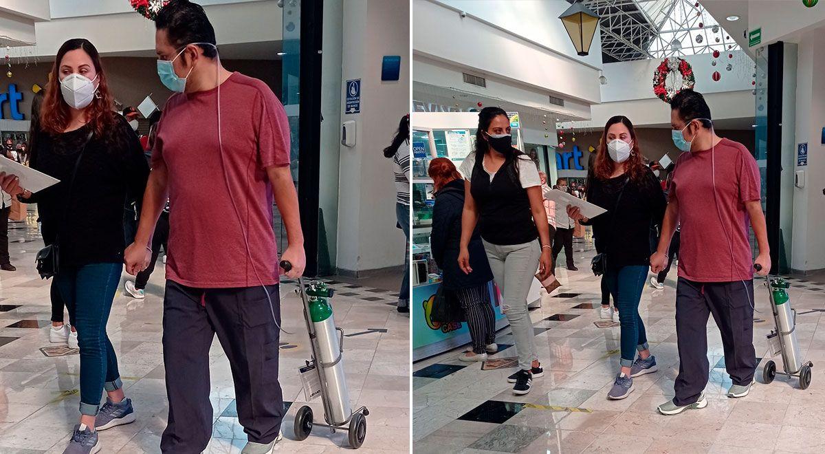 México: hombre es captado 'paseando' con su tanque de oxígeno en un centro comercial ►https://t.co/UUdnbdWy2c https://t.co/ev13lViPJv