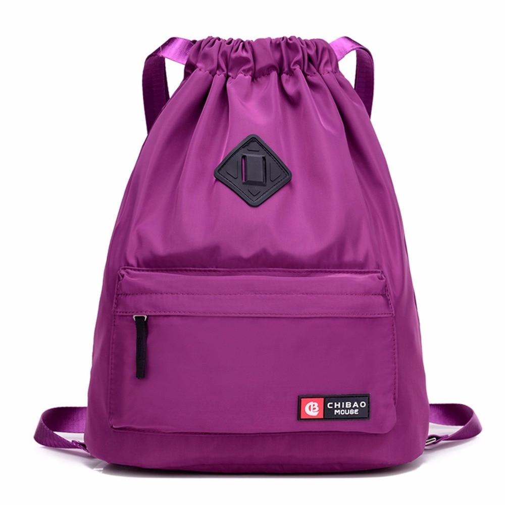 #sale #girls Waterproof Drawstring Unisex Sports Backpack