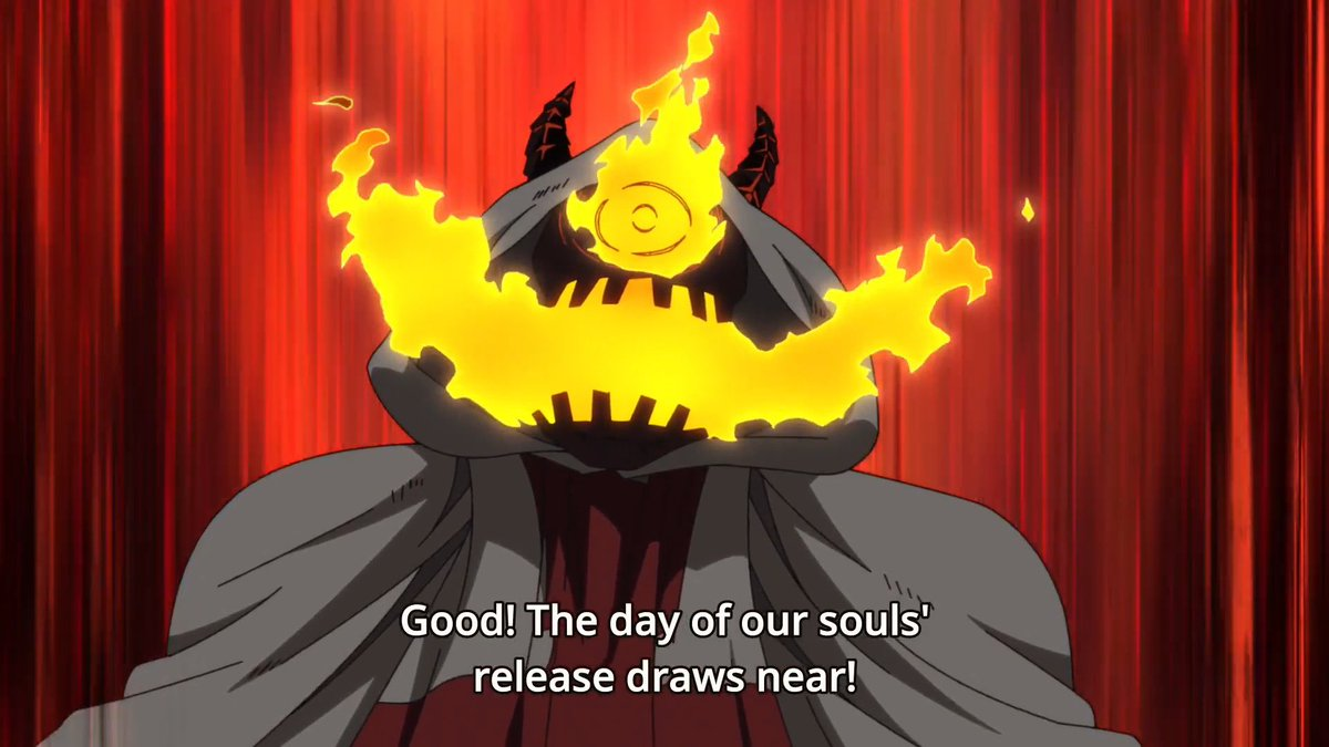 Let's have a bonfire to release our fiery souls! 😅 #FireForce #Toonami