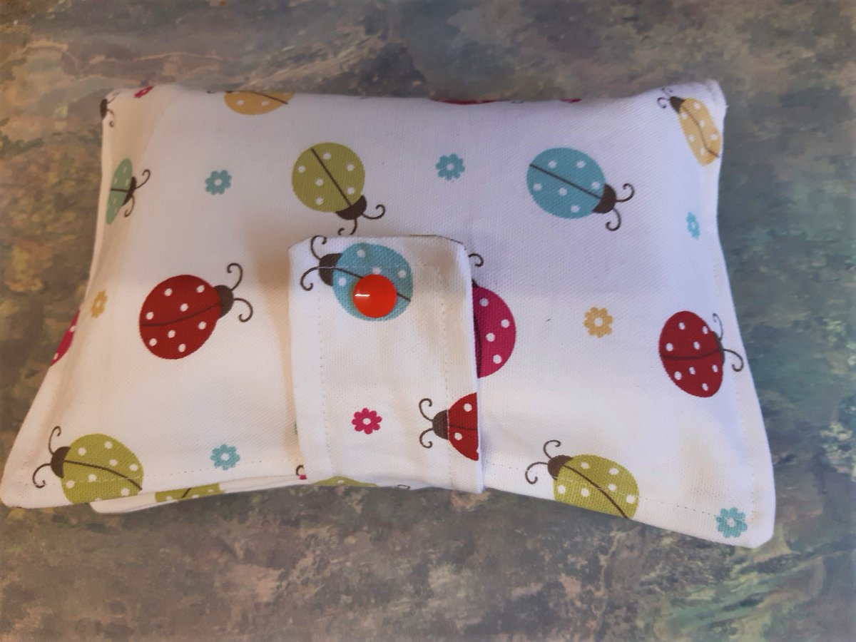 These wipes holders are not just for #babies great for everyone #earlybiz #ladybird #giftideas #etsy #handmade #shopindie