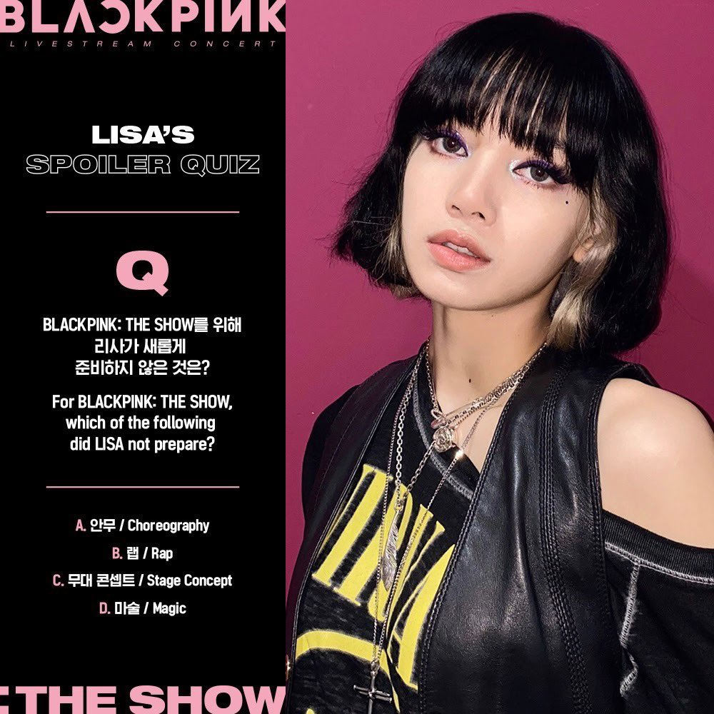 Replying to @_bpfuls: we're getting all the answers tomorrow!!   @BLACKPINK