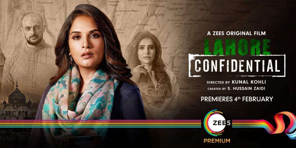 When her choice decides the fate of her nation, what will she do? Watch #LahoreConfidential to find out. Premiering 4th February on @ZEE5Premium. #WhateverItTakes @JarPictures @ajaygrai @kunalkohli @RichaChadha @arunodaysingh7 @KARISHMAK_TANNA @deepaksimhal