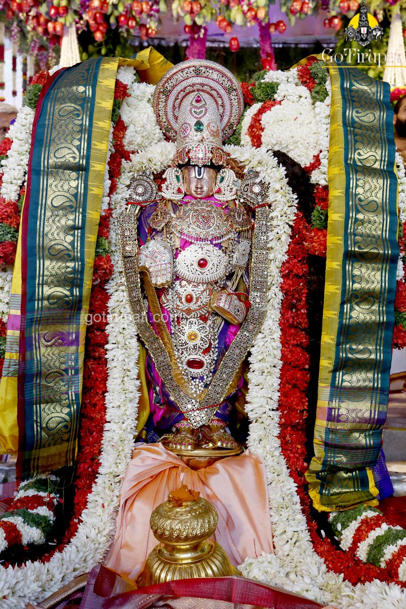 Replying to @GoTirupati: Sri Padmavathi Parinayotsavam