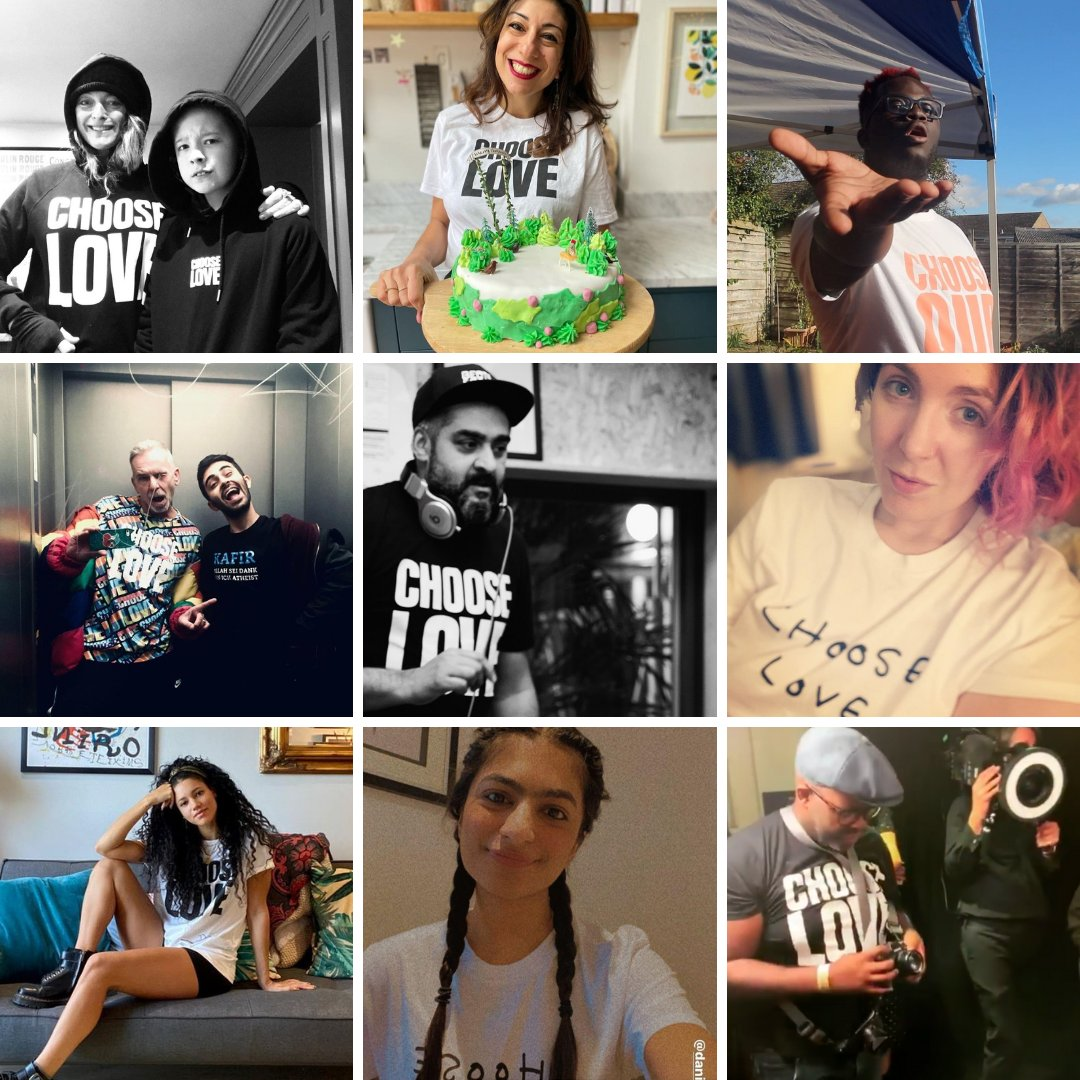 Choose justice, choose equality, choose love. Wear your heart on your sleeve. Get your very own #ChooseLove tees, hoodies and more from