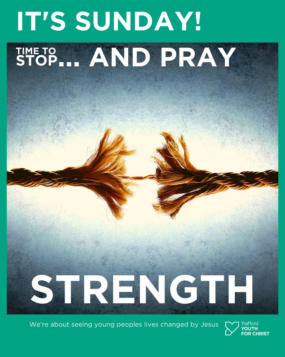 STRENGTH💪 Time to pray!🙏  Mighty God, Give us Your strength to carry on when we feel weak. Carry us through the tough times when we want to give up. Help us to be an encouragement to others. Amen  #itssunday #timetostop #stopandpray #prayertime #strength #hope #carryme