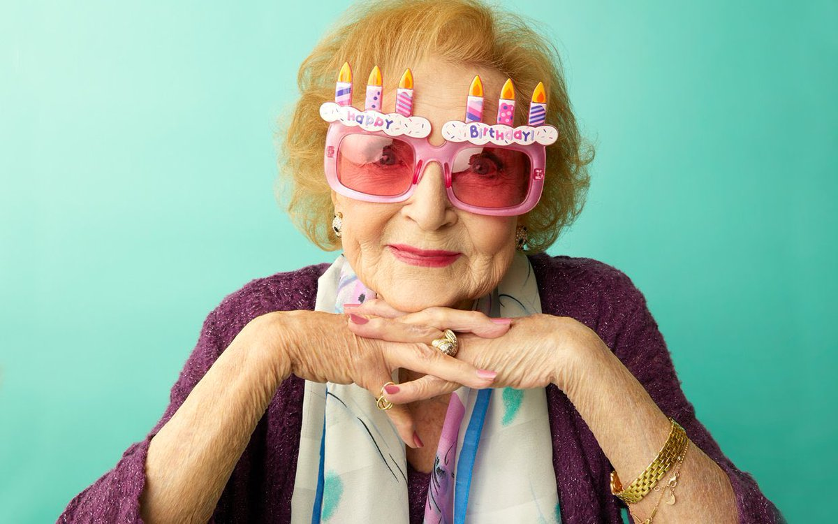 Happy 99th Birthday Betty White - national treasure #HappyBirthdayBettyWhite 🎂
